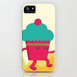 Dancing Cupcake iPhone Case