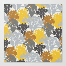 Acer Bouquets - Golds & Silvers Canvas Print