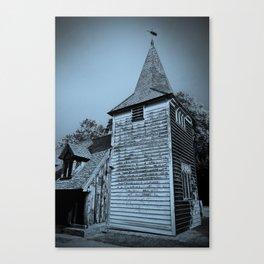 Greensted Church Art Canvas Print