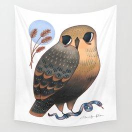 Hawk & Snake Wall Tapestry