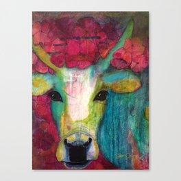 Cow III Canvas Print