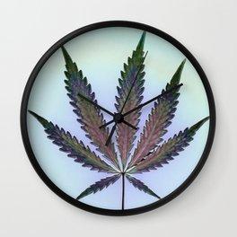 Hemp Lumen #7  Marijuana, Cannabis Wall Clock