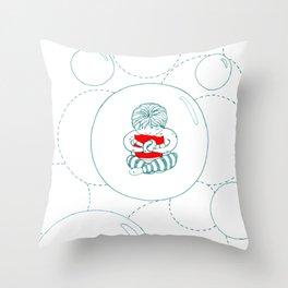 Close(r) Throw Pillow