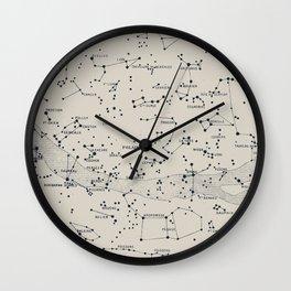 Carte du Ciel II Wall Clock