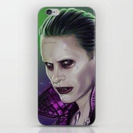 Joker (Jared leto) iPhone Skin