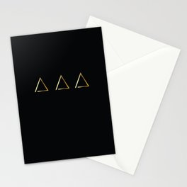 Gold Homes Stationery Cards