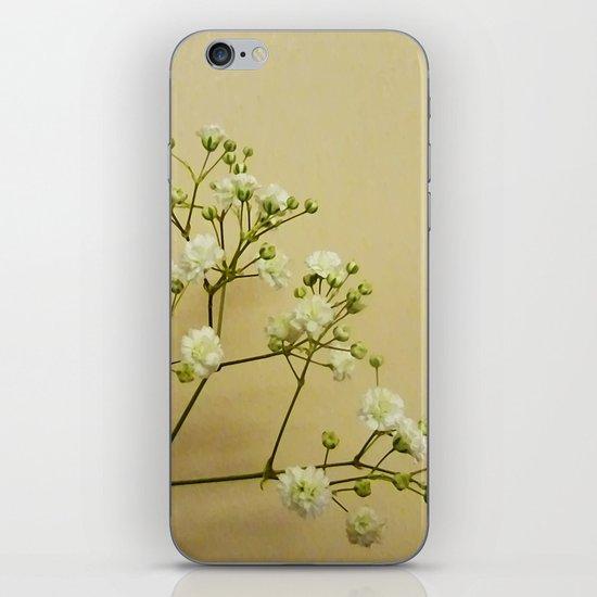 Gypsophelia iPhone & iPod Skin