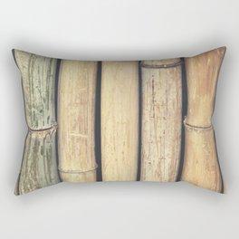 Vintage Retro Bamboo Rectangular Pillow
