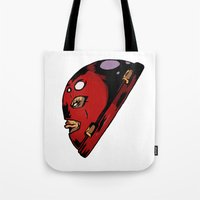 xmen Tote Bags featuring x2 by jason st paul