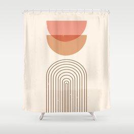 Sun Shining So Bright Abstract Shower Curtain