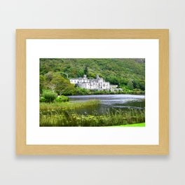 Irish Abbey Kylemore in Ireland Framed Art Print