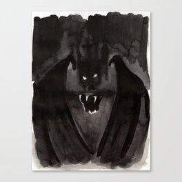 Screaming Bat Canvas Print