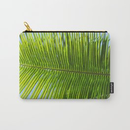 A single palm branch Carry-All Pouch