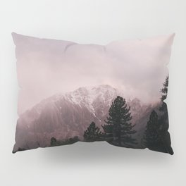 Misty Sunset on Convict Mountain Pillow Sham