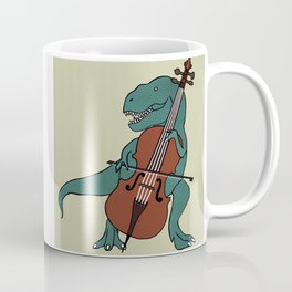 T-Rex Double Bass Coffee Mug