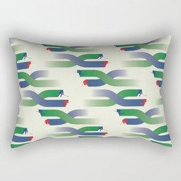 Breakaway - Grassy Field Rectangular Pillow