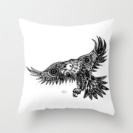 Legal Eagle Throw Pillow