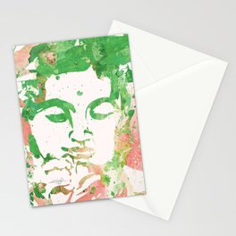 Watercolor Buddha No. 206 by Kathy Morton Stanion Stationery Cards
