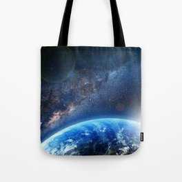 Galaxy - We are not alone. Tote Bag