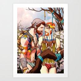The Wild 04 Art Print
