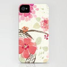 Flora Queen Slim Case iPhone (4, 4s)