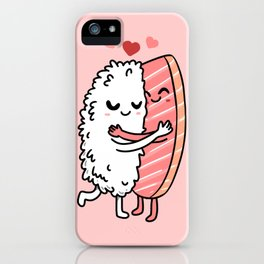 Sushi Couple Sushi Lover Gift iPhone Case