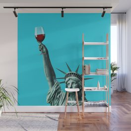 Liberty of drinking Wall Mural