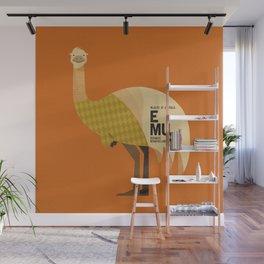 Hello Emu Wall Mural