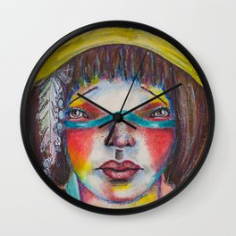 Warrior Goddess Wall Clock