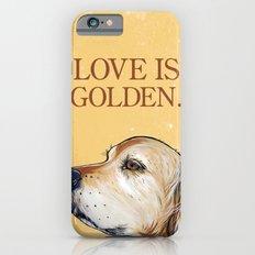 Love is Golden iPhone 6 Slim Case