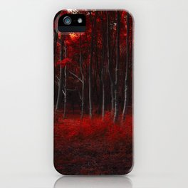 Scarlet Woods iPhone Case