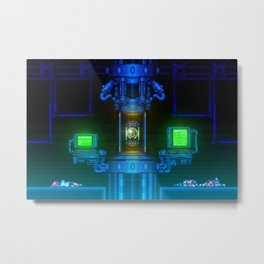 Ceres Station Metal Print