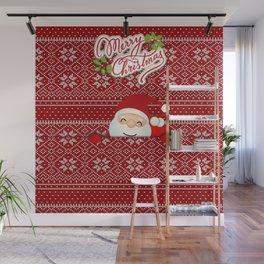 Noel Surprise Hiding Christmas Gift Wall Mural