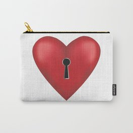 Unlock me Carry-All Pouch