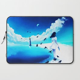 Lighthouse At The Sea Laptop Sleeve