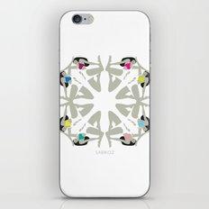 Weekend Girls Repeat Illustration iPhone & iPod Skin