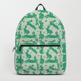Bunny love - Basil edition Backpack
