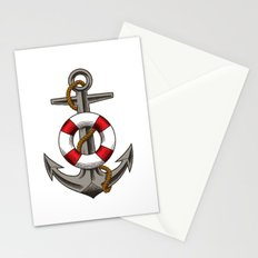 BOAT UNKER Stationery Cards
