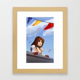 Garnet 'Dagger'   Final Fantasy IX Framed Art Print
