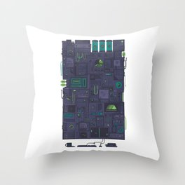 AFK Throw Pillow