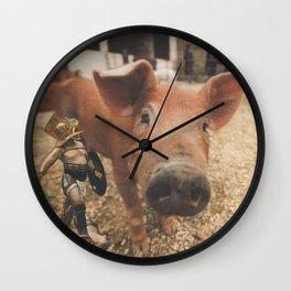 Circo Romano Wall Clock