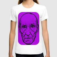 literature T-shirts featuring Outlaws of Literature (William S. Burroughs) by Silvio Ledbetter