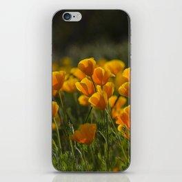 Poppy Fields Forever iPhone Skin