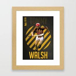 GAA Posters – Tommy Walsh Framed Art Print
