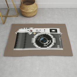 Retro Camera Pixel Art Rug