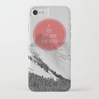 best friend iPhone & iPod Cases featuring best friend by Jesse Robinson Williams