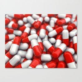 Pharmaceutical capsules Canvas Print