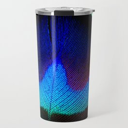 Colorfull Feather Peacock Travel Mug