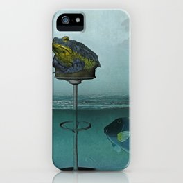 Toadstool Obviously iPhone Case