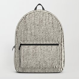 Tie Dye Stripes Charcoal Backpack